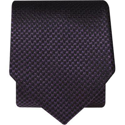 Purple Micro Weave 100% Silk Tie
