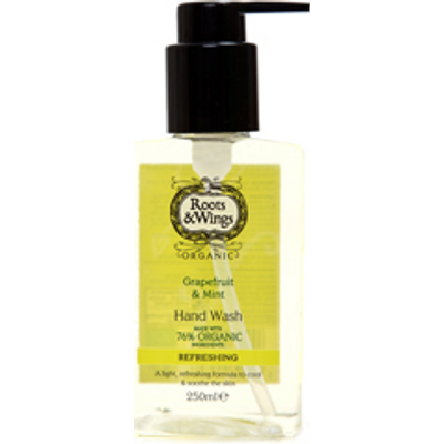 Roots & Wings Organic Grapefruit & Mint Hand Wash 250ml