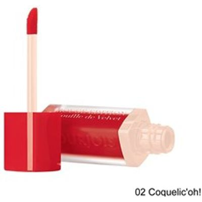 Bourjois Rouge Edition Souffle de Velvet Lipstick 02 Coquelic oh!
