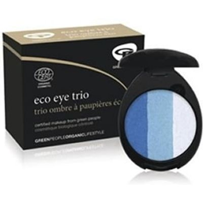 Green People Organic Eco Eye Trio Aqua
