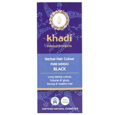 Khadi Herbal Hair Colour - Pure Indigo Black 100g