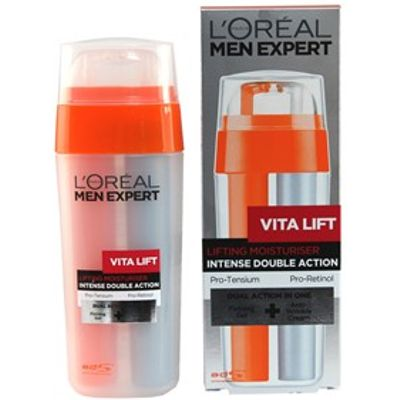 L'Oreal Paris Men Expert Vita Lift Intense Double Action Lifting Moisturiser 2 x 15ml