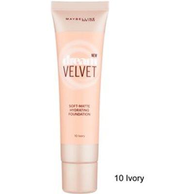 Maybelline Dream Velvet Soft-Matte Hydrating Foundation 10 Ivory