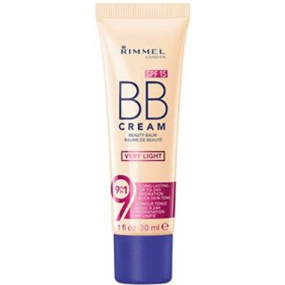 Rimmel BB Cream 9-in-1 Beauty Balm SPF15 Medium