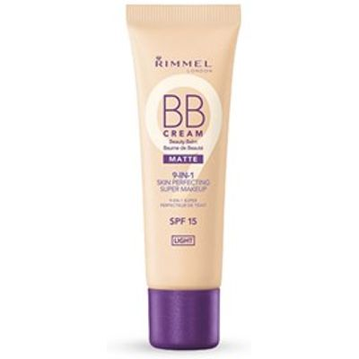 Rimmel BB Cream Matte 9-in-1 Skin Perfecting Super Make-up Light