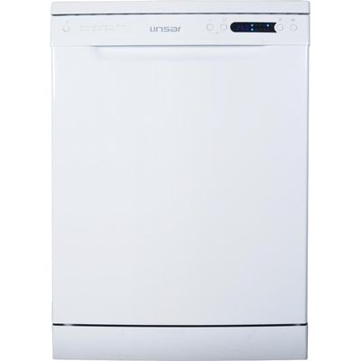 5025761001931 | Linsar DW800 Freestanding Standard Dishwasher in White with 14 Place Settings Store
