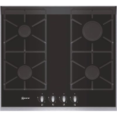 4242004113447 | Neff T66S66N0 Gas Hob  Black Glass Store