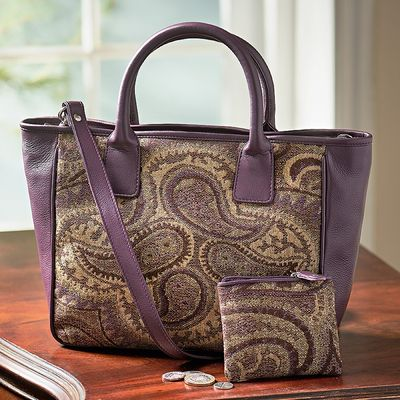 Paisley Tapestry Bag
