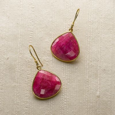 Mughal Ruby Earrings