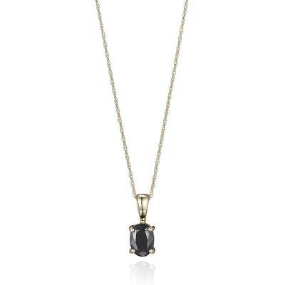 Gold & Sapphire Pendant