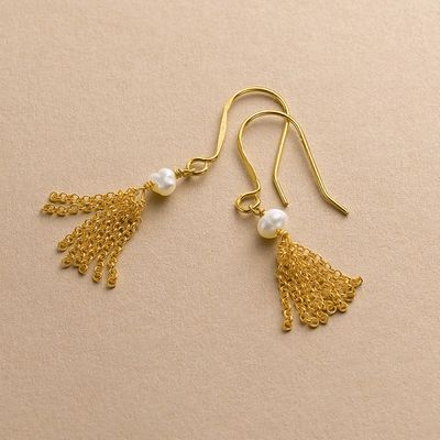 Drop in the Ocean Drop Earrings