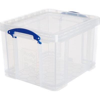 Really Useful 35L Clear Plastic Storage Box