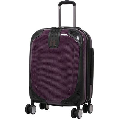 IT Luggage High Shine Protective Cabin Suitcase - Pink