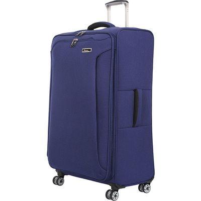 IT Luggage Lightweight 8-Wheel Large Suitcase - Blue