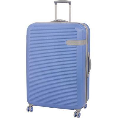 IT Luggage 8-Wheel Hard Shell Large Suitcase - Light Blue