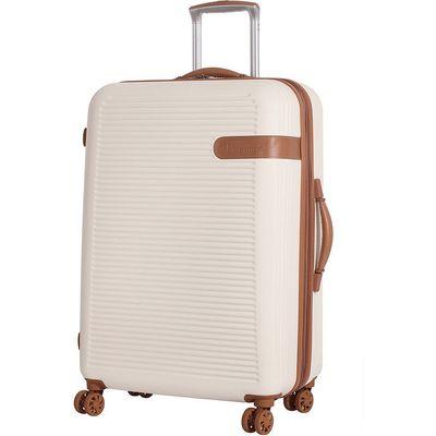IT Luggage 8-Wheel Hard Shell Medium Suitcase - Cream