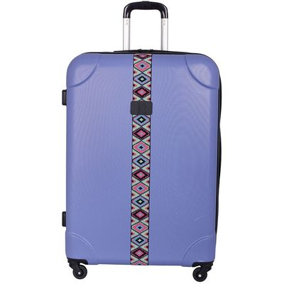 IT Luggage IT 4-Wheel ABS Emboss Large Suitcase - Bleached Denim