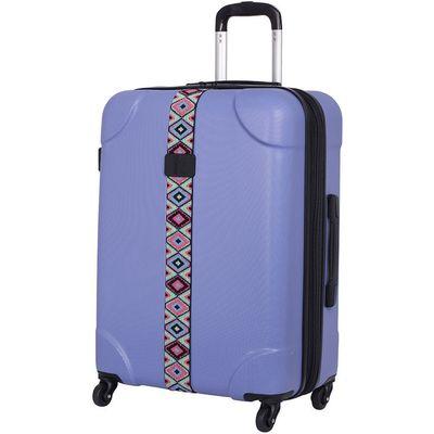 IT Luggage IT 4-Wheel ABS Emboss Medium Suitcase - Bleached Denim