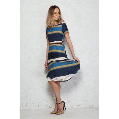 Sugarhill Boutique Lyra Stripe Dress