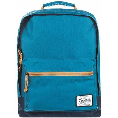Animal Carve Backpack, Teal