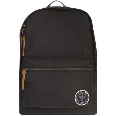Animal Burst Black Pattern Backpack, Black