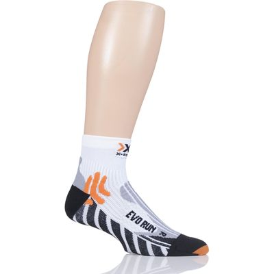 Mens and Ladies 1 Pair X-Socks Run Evolution Socks
