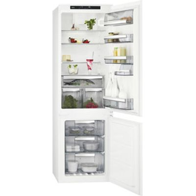AEG SCS8181ETS 55cm Built In 70 30 Frost Free Fridge Freezer 1 77m A