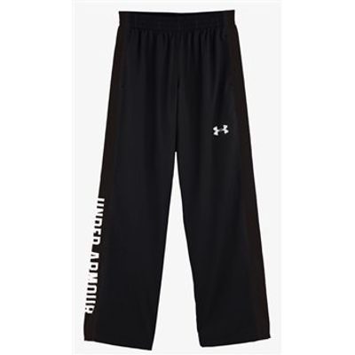 Under Armour Edge Woven Pants - Youth - Black/White