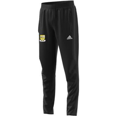 adidas Club Clonmel Town FC Schoolboys Tiro 17 Training Skinny Pants - Youth - Black/Black/White