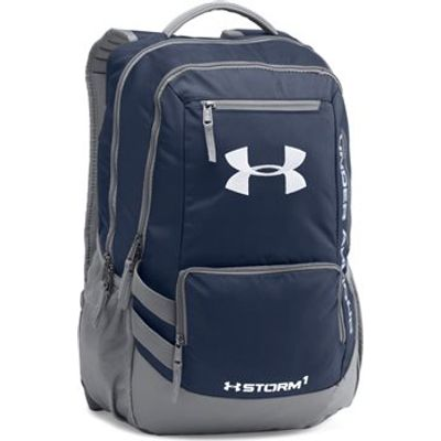 Under Armour Hustle II Schoolbag/Backpack - Midnight Navy