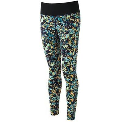 Ronhill Momentum Tights - Womens - Mosaic Print Surf