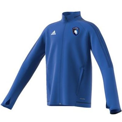 adidas County Laois GAA Tiro 17 Training Jacket - Youth - Royal