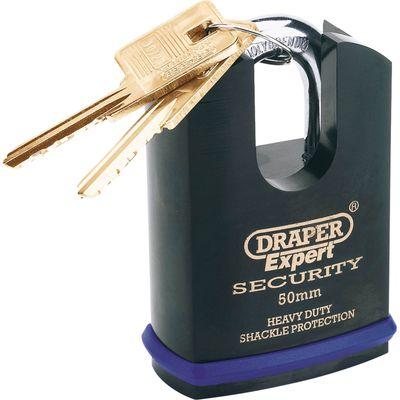5010559641970 | Draper Expert Heavy Duty Padlock Closed Shackle 50mm Standard Store