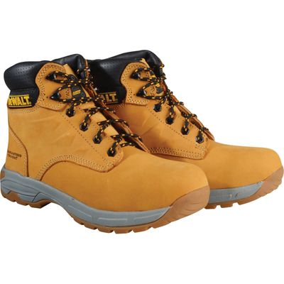 DeWalt Mens Carbon Safety Hiker Boots Wheat Size 7
