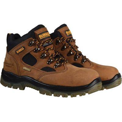 DeWalt Mens Challenger 3 Sympatex Safety Boots Brown Size 6