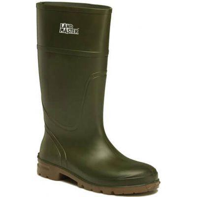 Dickies Mens Landmaster Wellington Boots Green Size 7