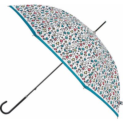 EXCLUSIVE totes Ladies Elegant Walking Umbrella Animal Colour Print (July Pre-Order)