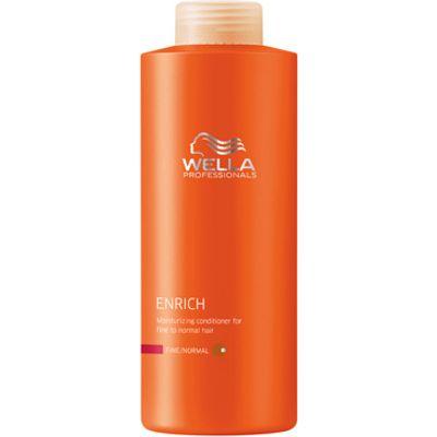 Wella Professionals Enrich Fine Conditioner 1000ml