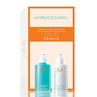 Moroccanoil Moisture Repair Shampoo and Conditioner Duo 500ml