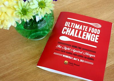 Daily Bread's Ultimate Food Challenge 2013