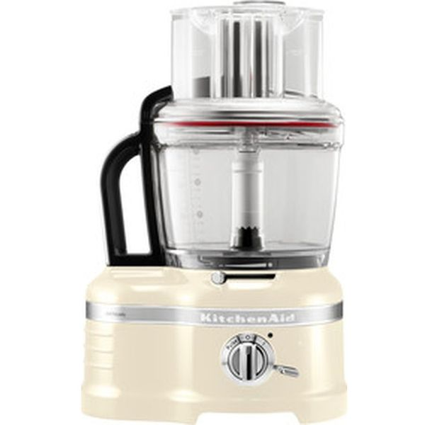 6. KITCHENAID Artisan 4L 5KFP1644BAC Food Processor - Cream, Cream: £409.99, Currys