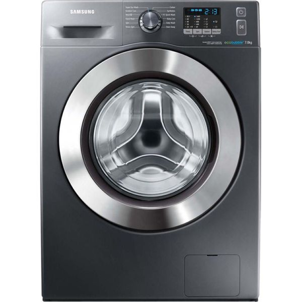 10. SAMSUNG  ecobubble WF70F5E2W4X Washing Machine - Graphite, Graphite: £399.98, Currys