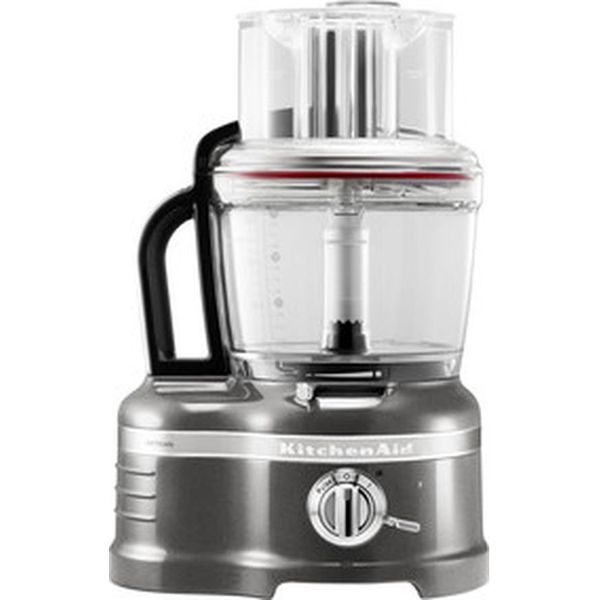 5. KITCHENAID Artisan 4L 5KFP1644BMS Food Processor - Silver, Silver: £409.99, Currys