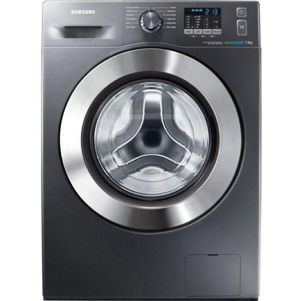11. SAMSUNG  ecobubble WF70F5E2W2X Washing Machine - Graphite, Graphite: £399.98, Currys