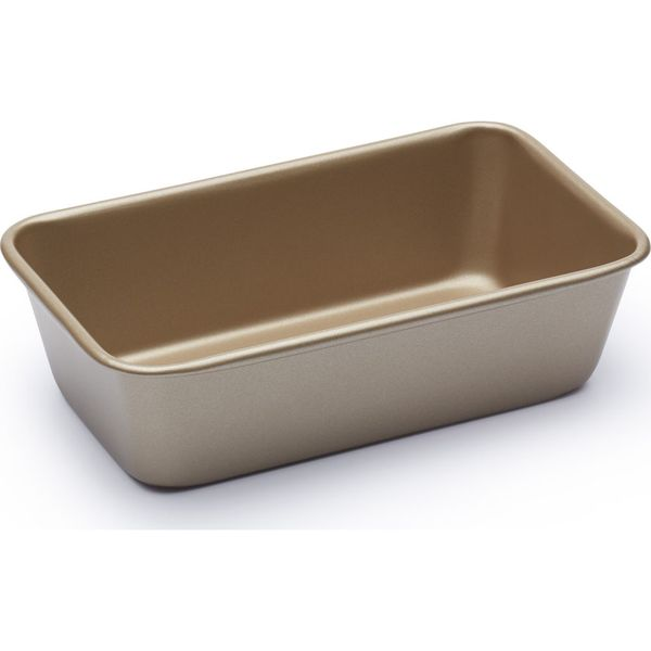 4. PAUL HOLLYWOOD  PHHB9 2 lb Non-stick Loaf Tin - Gold, Gold: £6.97, Currys