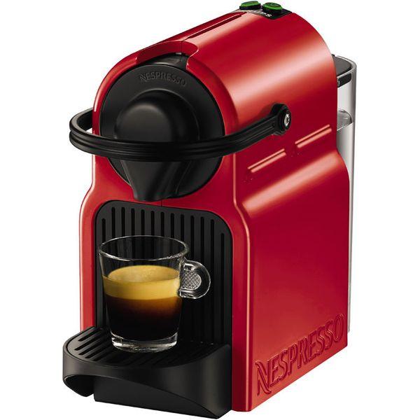 15. NESPRESSO  XN100540 Nespresso Inissia Coffee Machine - Ruby Red, Red: £64.97, Currys