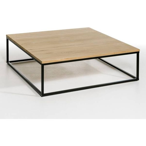 30. Aranza Square Coffee Table, Solid Oak, Natural Oak: £559, La Redoute