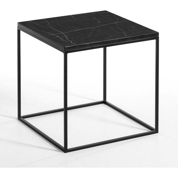 33. Mahaut Side Table, Marble Top, Black: £179, La Redoute