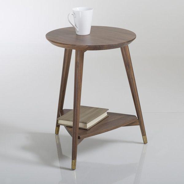 38. Watford Vintage Side Table, Walnut: £174, La Redoute