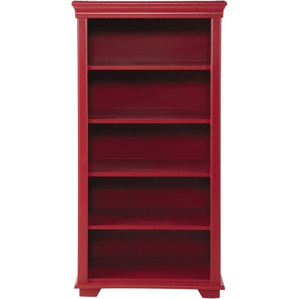 31. Wooden child's bookcase in red W 75cm: £280, Maisons du Monde